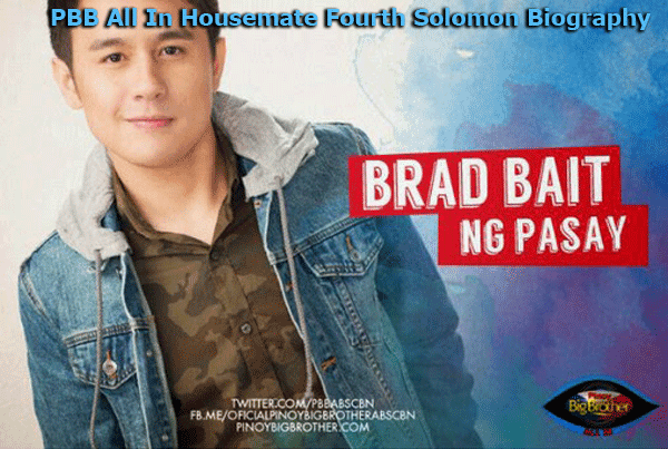 PBB All In Housemate Fourth Solomon Biography