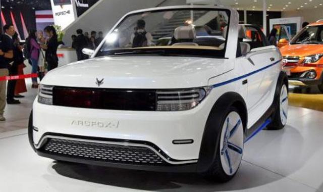 китайский авто Arcfox 1