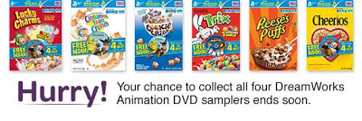 DreamWorks Animation DVD samplers