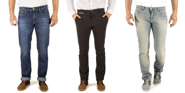 pantalones vaqueros moda hombres
