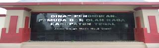 Alamat sekolah di Kabupaten Tegal