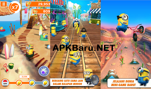 Despicable Me MOD Apk+Data v3.4.1 Terbaru (Unlimited)