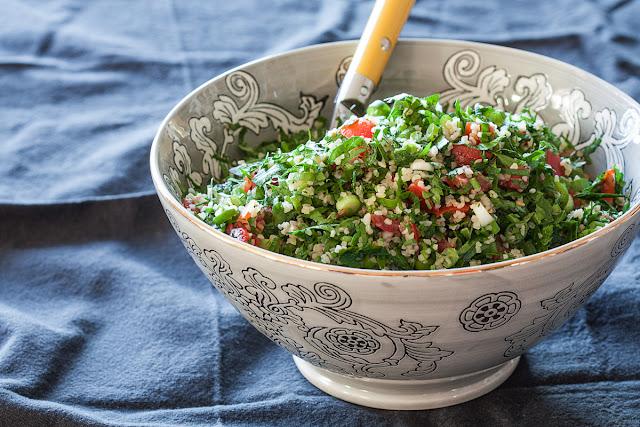 Libanska tabuli salata od peršuna