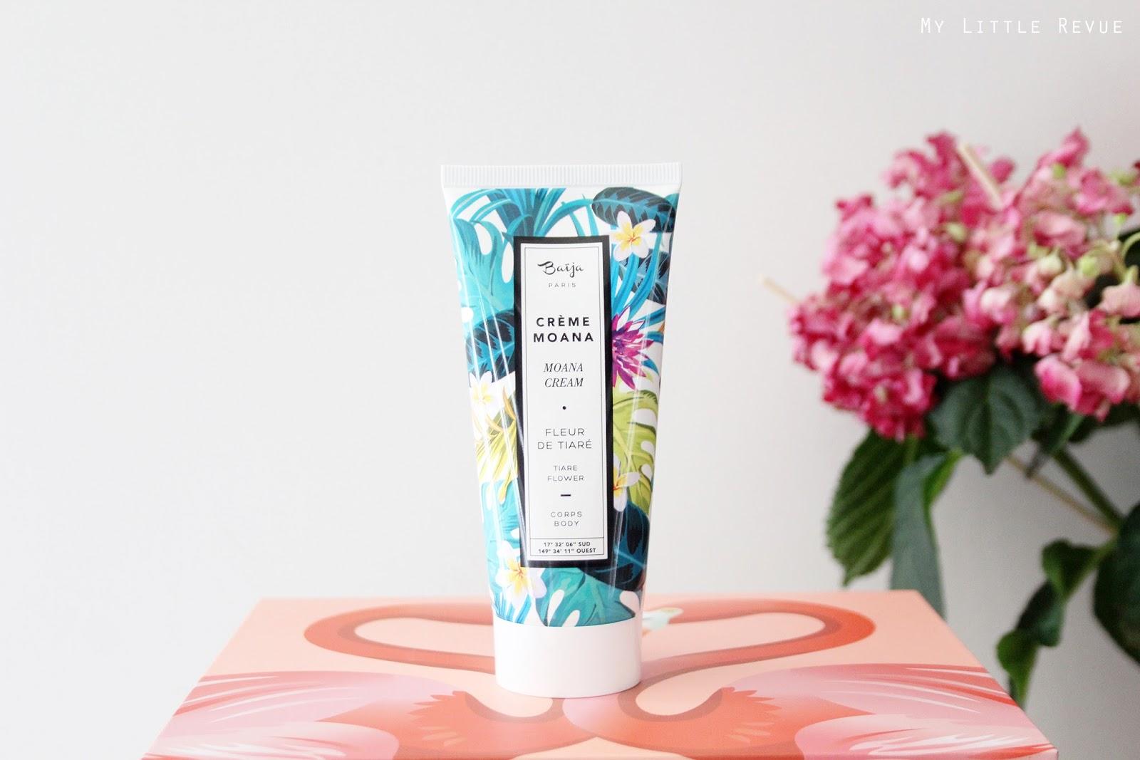 crème pour le corps à la fleur de tiaré Moana