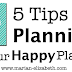 5 Tips for Planning in Your Happy Planner
