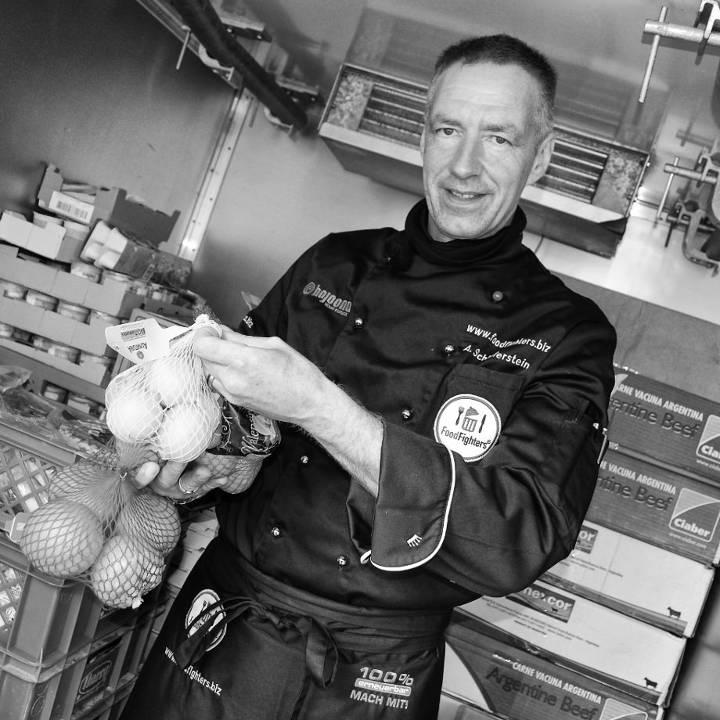 FoodFighter und Expo-Botschafter Michael Schieferstein.