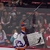Matt Barzal tosses stick to fan in Detroit (Video)