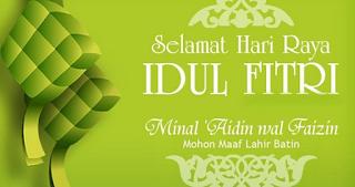 Kumpulan Ucapan Selamat Hari Raya Idul Fitri 1440 H Tahun 2019 Paling Keren