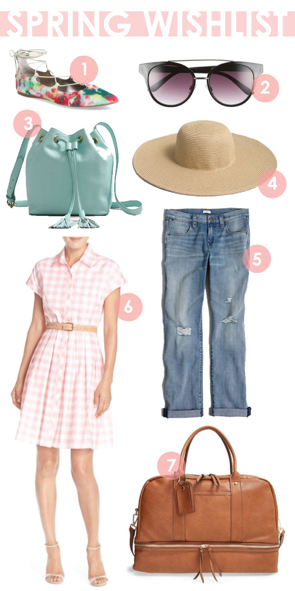 spring 2016 wishlist spring essentials you need in your closet