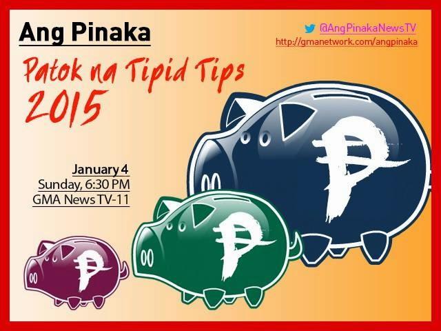 pinaka patok tipid tips 2015