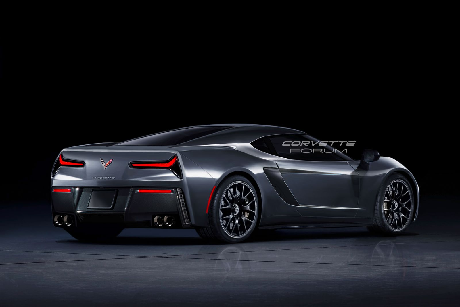 What If The Mid Engine Corvette C8 Looked Like This
