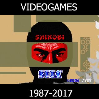 40 Años de Shinobi 1987-2017 - SEGA