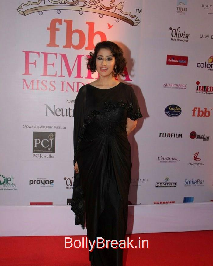 Manisha Koirala, Grand Finale of Femina Miss India 2015 Photo Gallery