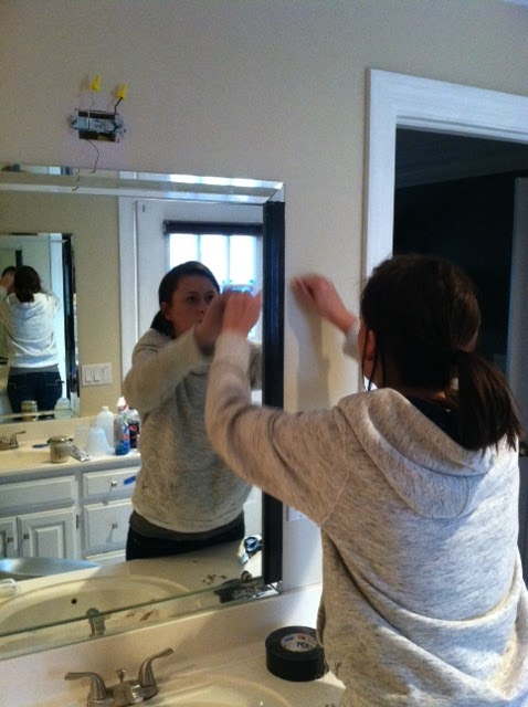Grace goes to Grad School: How to Remove Mirrored Trim ...