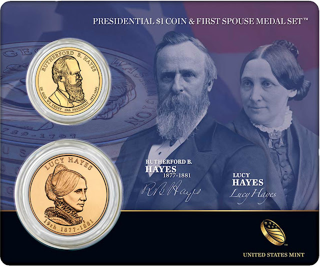 President Rutherford B. Hayes & First Spouse Lucy Hayes