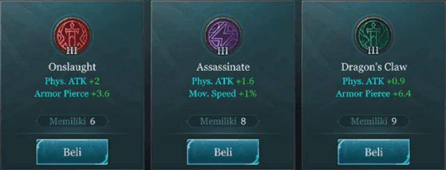 Arena of Valor (AoV) - Item Build Quillen The Elite Assassin