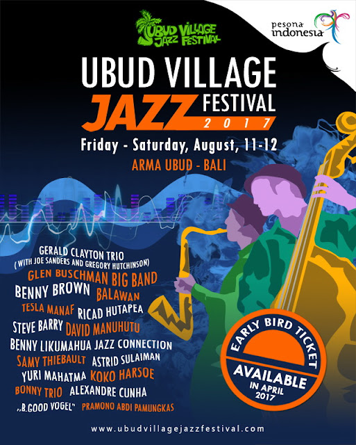 Ubud Village Jazz Festival 2017 - Lorong Musik