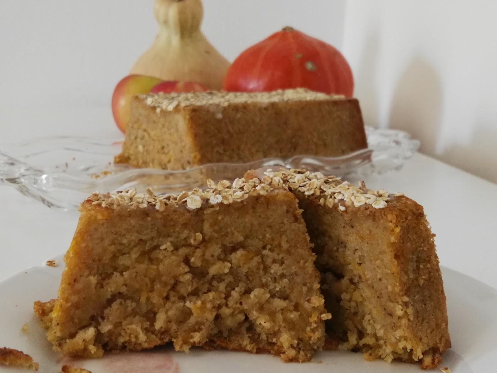 Kurbis Apfelkuchen Ohne Ei Herbstkuchen