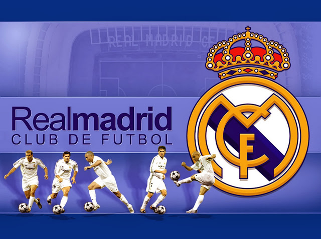 Real Madrid: Images For Frames, Cards Or Invitations.