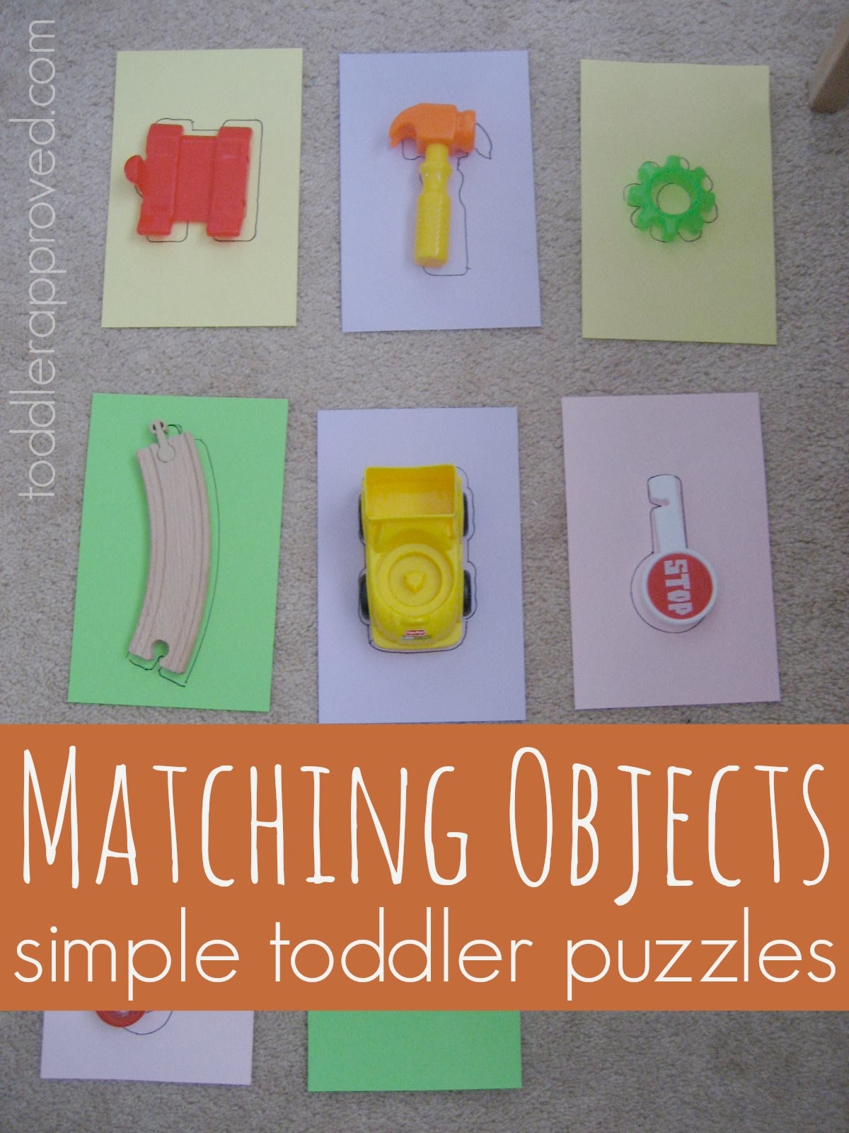 Toddler Approved Matching Objects