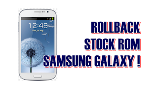Cara Flash Stockrom Samsung Galaxy Grand Duos I9082 Via CWM