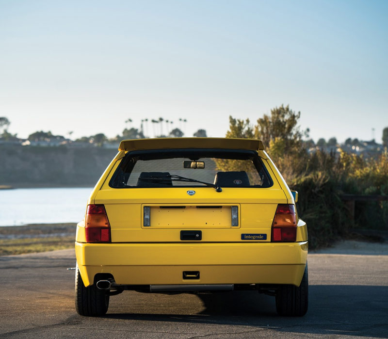 yellow lancia delta hf intergrale evoluzione to be sold without reserve carscoops. Black Bedroom Furniture Sets. Home Design Ideas