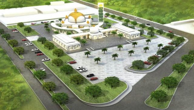 gresik24jam - masjid kh ahmad dahlan
