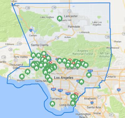 Craftsman Search Los Angeles County
