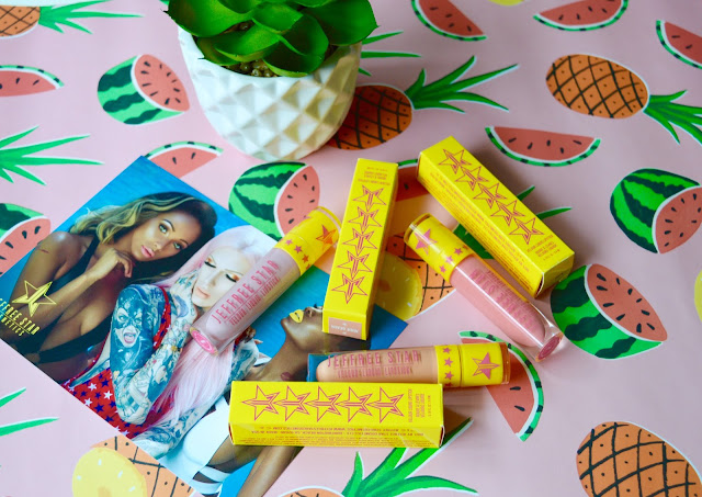 Jeffree Star Summer Collection lipsticks