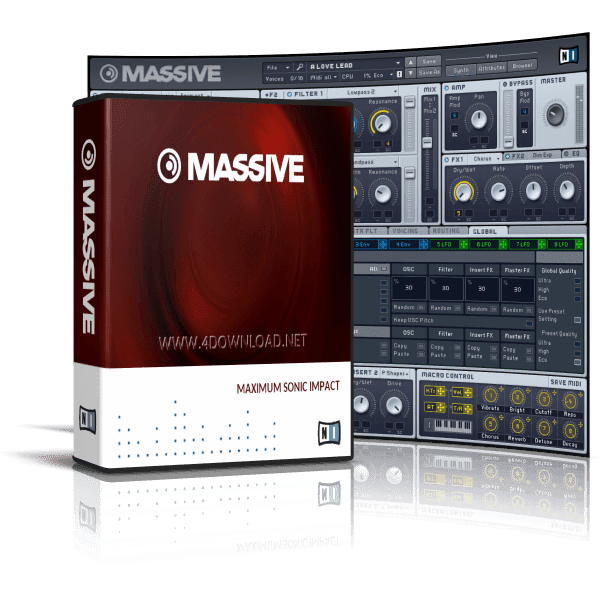 Native Instruments - Massive v1.5.5 Full version
