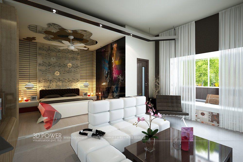 High Class Interior Design 3D Rendering Studio   3D Power