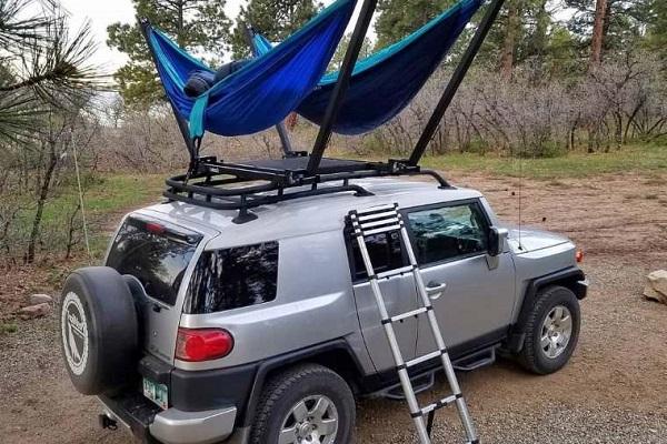 Accesorios para autos Roof Top Hammock