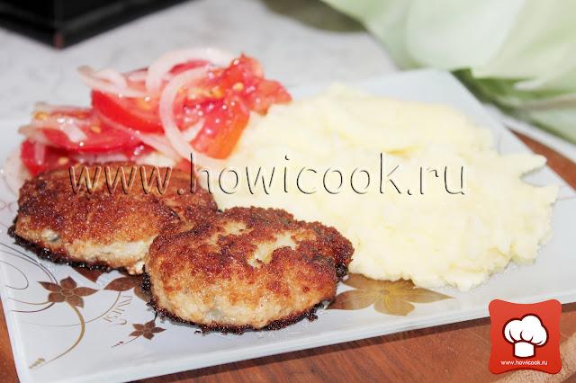рецепт приготовления рыбных котлет