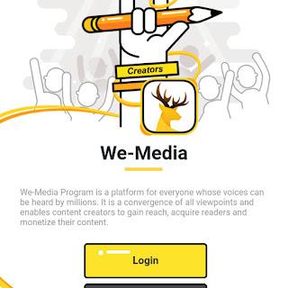 UC news par account kiase banaye step by step, UC we-media program ka account kiase banaye