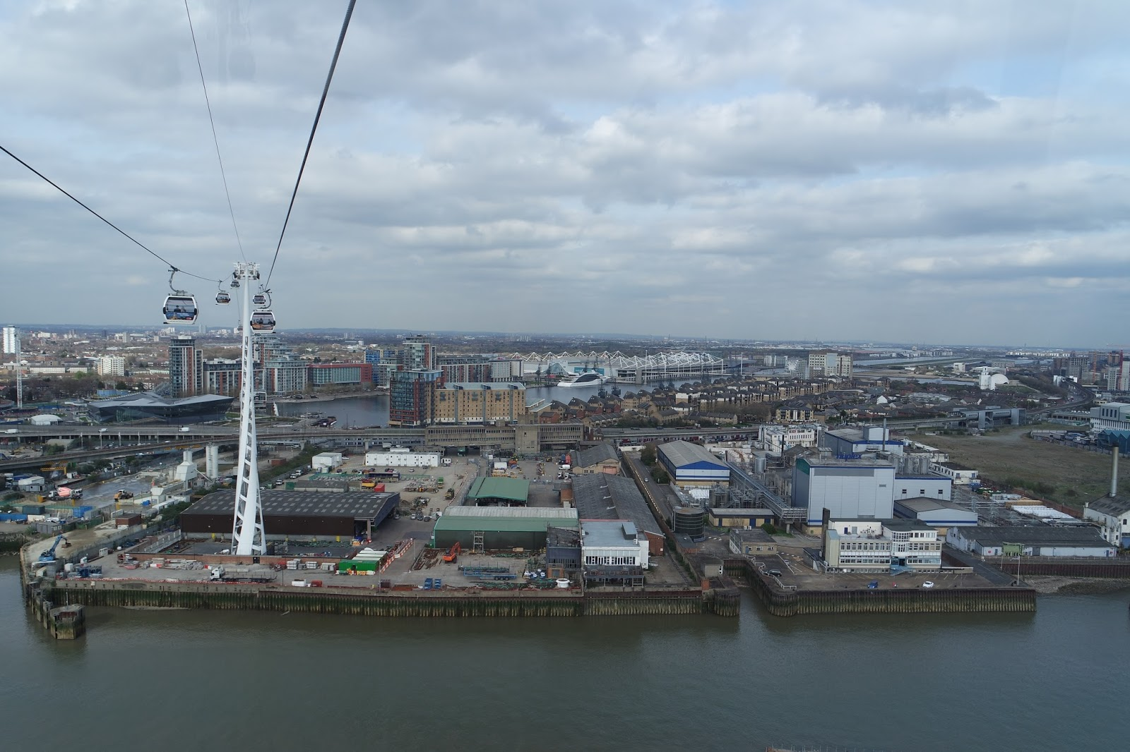 Emirates Air-Line London Cable Car Transport