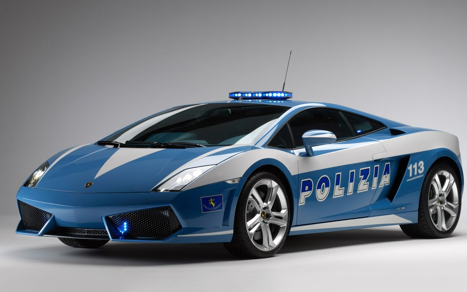 It belongs to the italian state police and was donated by the italian car company to help accident and crime prevention and sustain security on italian