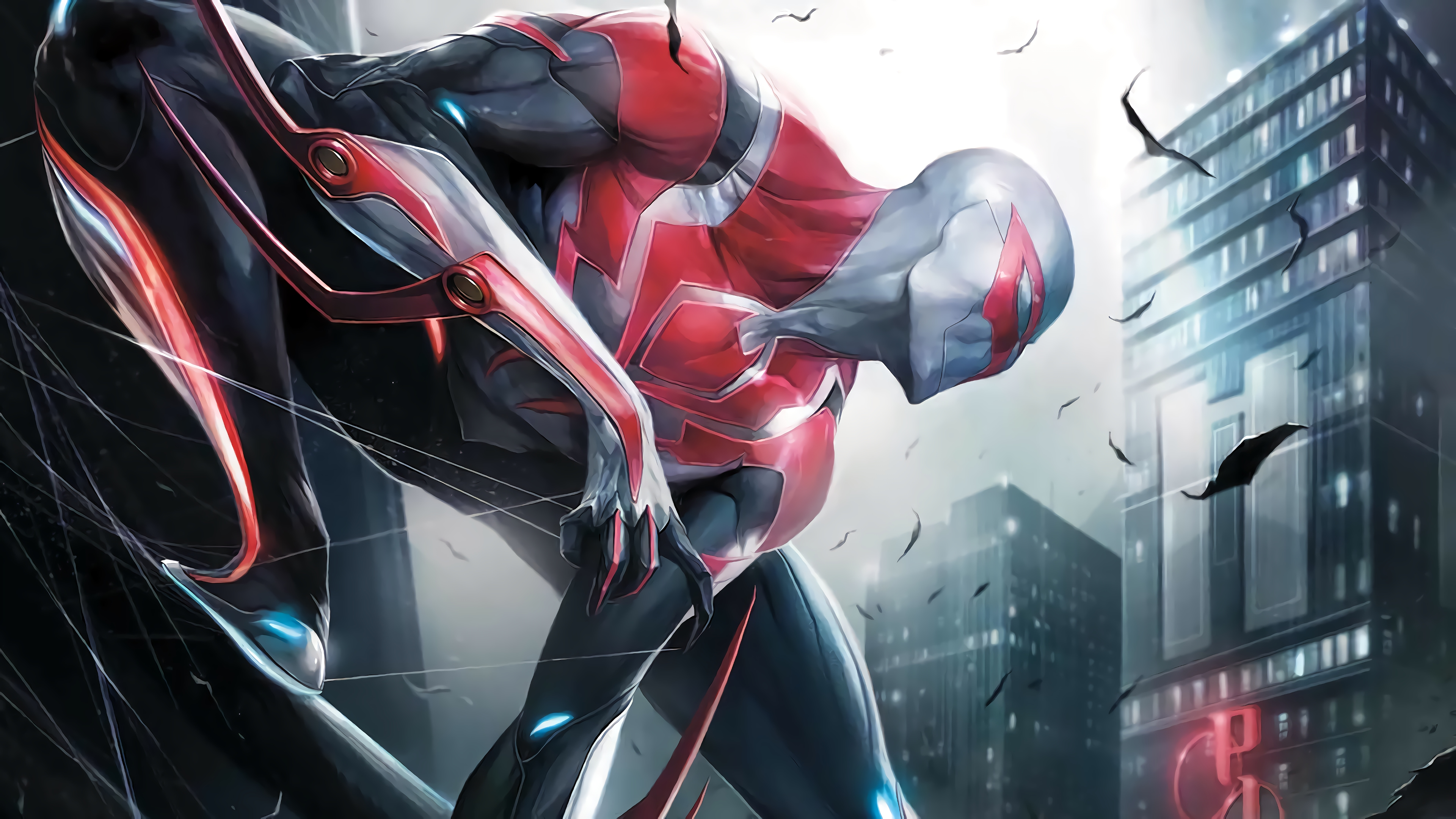 Spider Man 2099 4k Wallpaper 88
