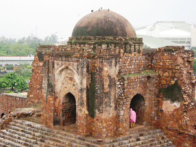 The Mosque at Firoz Shah Kotla
