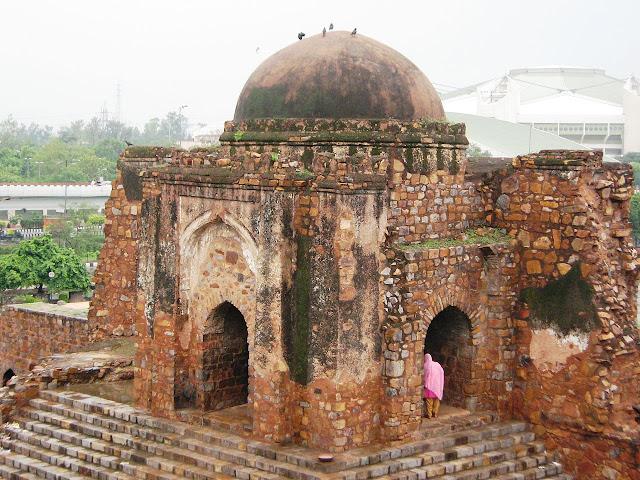 The Mosque at Firoz Shah Kotla