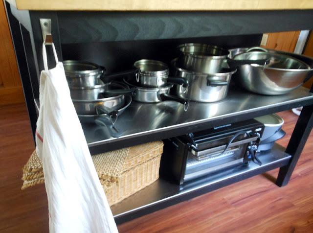 kitchen ideas; quilted nest