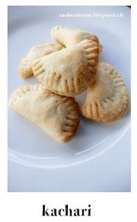 rezept kachari, indische teigtaschen, foodblog schweiz