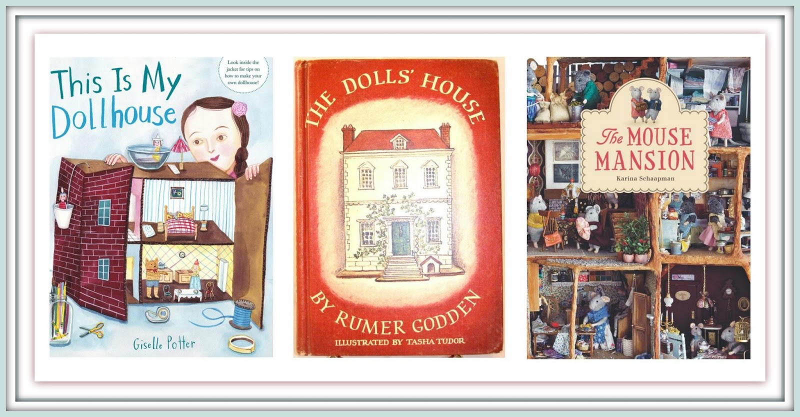 Julia's Bookbag: books about dollhouses
