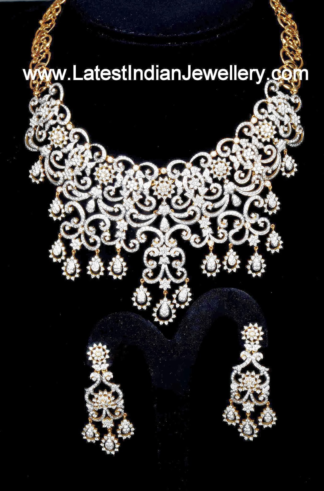 Diamond Wedding Jewellery Set