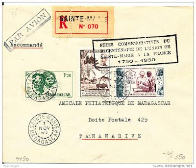 Bicentenaire France Sainte-Marie Madagascar