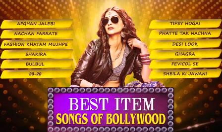 Best Item Songs Video / Lyrics of Bollywood (2015)