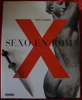 Portada del libro Sexo en Roma, de John R. Clarke