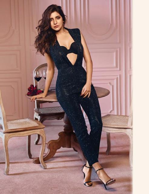 Hot Anushka Sharma Sizzles on GQ Magazine December 2016 HQ Pics