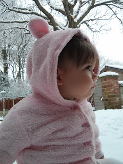 youngest in snow