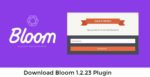 Bloom 1.2.23 eMail Opt-In Plugin Download Free