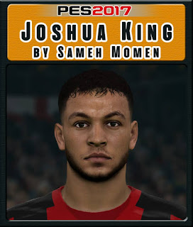 PES 2017 Faces Joshua King by Sameh Momen
